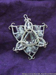 Frostflover( wire, rock-crystal)