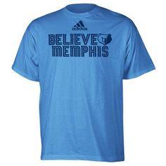 Memphis Grizzlies Believe 2013 Playoffs Slogan T-Shirt