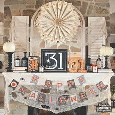 Home Tour Tuesday - The Halloween Edition | Pearls Handcuffs & Happy Hour