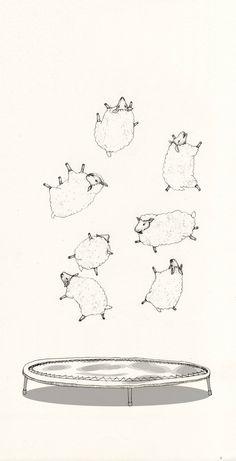 """hitrecord:  """"Counting Sheep"""""""
