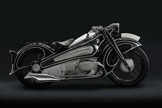art deco bmw motorcycle