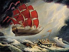 The Flying Dutchman by Tom Simpson, via Flickr