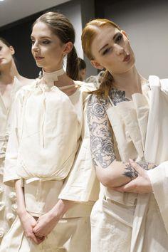 #backstage #fashion #models #fashionbackstage