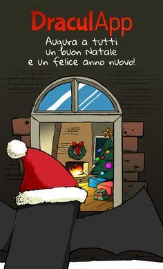 Buon Natale e Felice Anno Nuovo da DraculApp!