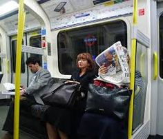 Image result for people on the tube