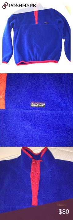 Patagonia Synchilla Snap-T Fleece Pullover Rare colorway. Great condition. Extremely comfortable and warm. Patagonia Shirts Sweatshirts & Hoodies