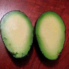 This pitless avocado: | 25 Photos That'll Make You Slightly Uncomfortable
