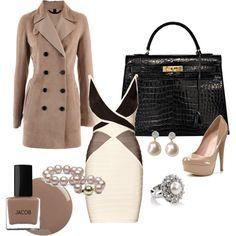 Smart and Elegant. polyvore.com