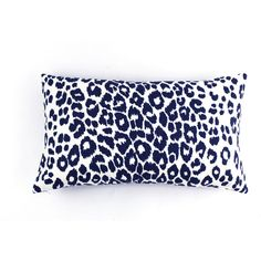 ON SALE Schumacher Iconic Leopard Pillow 14 X 24 in Ink (both sides) ($65) ❤ liked on Polyvore featuring home, home decor, throw pillows, leopard throw pillows, leopard home accessories, schumacher and leopard home decor