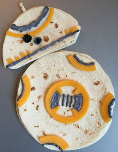 "BB-8 Droid Quesadillas | 17 Foods Guaranteed To Excite Any ""Star Wars"" Fan"