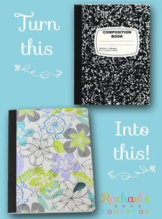 DIY Journal flyer-best tutorial and includes measurements***