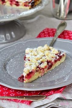 ullatrulla backt und bastelt: Knusper, knusper, Knäuschen | Rezept für Pudding-Kirschstreusel