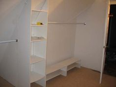 attic bedroom/closet ideas