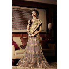 Indian Rag Multicolor Designer Georgette Saree