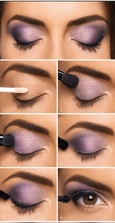 Seven Super Eye Makeup Tutorials For Busy Ladies