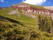 Trail Journals Photos - 2014 Colorado Trail - View from camp below Blackhawk Pass