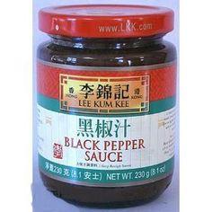 Lee Kum Kee Black pepper sauce 8 oz - http://spicegrinder.biz/lee-kum-kee-black-pepper-sauce-8-oz/