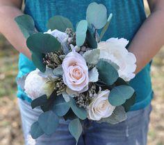 Keepsake faux flower  bouquet shipping worldwide  from Holly's Flower Shoppe on Etsy