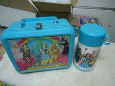 1989 Wizard of Oz Lunch Box with Thermos Aladdin | eBay