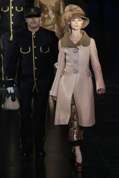 a beautiful ensemble from louis vuitton fall 2012