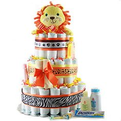Diaper Cakes are not only decorative, they are a useful gifts for a new mom Our baby diaper cakes for a boy or girl are perfect baby shower gifts! Diaper Cake Boy, Diaper Cakes, Baby Shoes Pattern, Cake Online, Baby Bottles, New Baby Gifts, Gift Baskets, Baby Room, Baby Shower Gifts