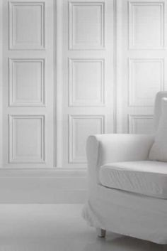 White Panelling by Young & Battaglia 2.5m Panel