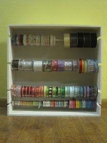 Crafts and Crap: Ribbon Rack