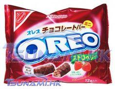 Oreo Strawberry Ichigo Chocolate Mini Bar Bag Japan Edition