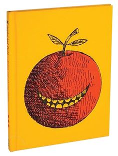 'If apples had teeth: a book for children' by Milton Glaser, Graphic Design Illustration, Graphic Illustration, Book Design, Cover Design, Bob Dylan Poster, Milton Glaser, Guache, Beautiful Book Covers, Apples