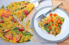 Broccoli Egg Skillet Pie