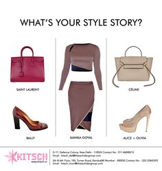 Do my bag and shoes have to match my outfit? The new rule for women's shoes and handbags is to treat every color as neutral so that your outfit looks divine with patent totes and high-heeled sandals.Which one will be your style? @ysl @alice_olivia