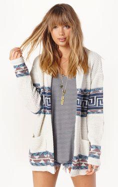 theadora sweater by Goodis Knitwear   PLANET BLUE