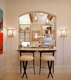 pass through window with bar   Pass-through Bar Design Ideas, Pictures, Remodel, and Decor