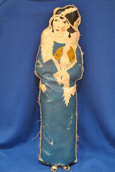 RARE Vintage Skeezix Oilcloth Doll Mrs Blossom from The 1920's by Fran King | eBay
