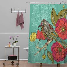 Valentina Ramos Contented Constance Shower Curtain   DENY Designs Home Accessories