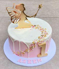 Fairy Birthday Cake, 1st Birthday Cake For Girls, 7th Birthday Cakes, Birthday Cake Toppers, Fairy Garden Cake, Garden Cakes, Fairy Cupcakes, Vanilla Cookies, Novelty Cakes