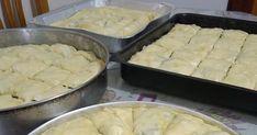 Ετοιμα για την καταψυξη !!! ΣΠΑΝΑΚΟΠΙΤΑ Πλενουμε και ψιλοκοβουμε τρυφερα χορτα(σπανακι σεσκουλα ανηθο πρασο κρεμυδοπουλα παπαρουνες μαιντ... Mashed Potatoes, Cheese, Ethnic Recipes, Food, Whipped Potatoes, Smash Potatoes, Essen, Meals, Yemek