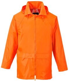 Rain Jacket for foul weather, waterproof, Black, Orange, Yellow, Olive, Blue, Navy, Grey available up to 5XL