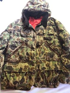 7949b41a3b2 Ralph Lauren Polo Brown and Green Hudson Camo Down Hooded Puffer Jacket   fashion  clothing