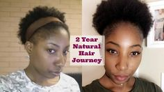 My 2 year Natural Hair Journey (couldn't go without weave)