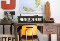 old school desk....love this.....for the teacher in me