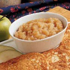 Diabetic Friendly Sugarless Applesauce Recipe   Taste of Home Recipes