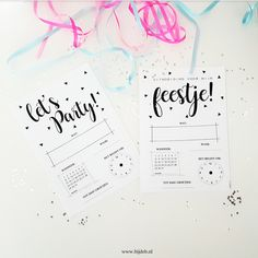 Hallo allemaal, Ik kreeg laatst een mailtje van iemand die op mijn blog aan het neuzen was voor printable uitnodigingen voor een ... Diy Party, Party Gifts, Happy Birthday Boy, Bullet Journal Ideas Pages, Kids And Parenting, First Birthdays, Invitations, Cards, Free Printables