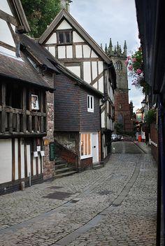 ysvoice:  | ♕ | Stroll down the Fish Street - Shrewsbury, England | by Kim Lyte