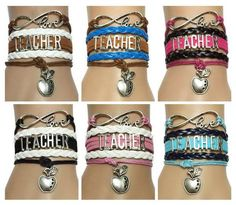 LOOKING FOR TEACHER GIFT IDEAS? Look no further. This teacher bracelet is perfect gift for any teacher. Its unique, adjustable and something they can wear daily. A fruit that signifies intelligence, t