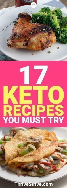 I'm always looking for more delicious keto recipes and these are 17 new ones that I'll have to try and make. I love the ketogenic diet! #Keto #KetoRecipes #KetogenicDiet