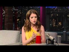 "Anna Kendrick famously started the craze of using a plastic cup to accompany her singing in the 2012 film Pitch Perfect . | This Is The Best Cover Of Lorde's ""Royals"" You'll Ever See"