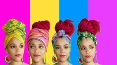 5 Quick & Easy Headwrap Turban Styles