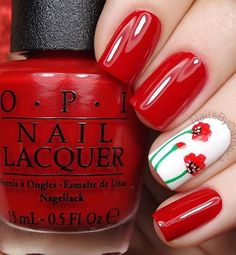 Here are 17 fresh and fashionable red nail designs, from Styles Weekly: Whatever your age is, the red nail polish is always a nice choice. The red nails are so versatile that you can wear them for differnet styles and occasions. If you want a larruping red nail design, you should stay here and have [...]
