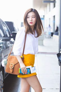 Red Velvet's Seulgi dazzled media sources and fans during her latest…